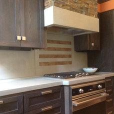 Contemporary Kitchen Countertops by VC Studio Inc.