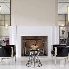 Contemporary Rendering Modern Living Room