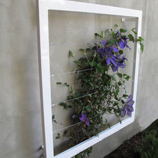 Outdoor Planters by TerraTrellis