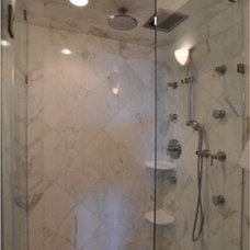 Showerheads And Body Sprays by Cheryl McCracken Interiors,Inc
