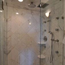 Showers by Cheryl McCracken Interiors,Inc