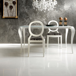 Cristal White Porcelain Tile Floor