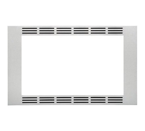 Panasonic - Trim Kit - Panasonic's NN-TK732SS 30 In. Wide Trim Kit, in stainless steel, is designed for select Panasonic 1.6 cu. ft. microwave ovens. This built-in trim kit allows you to neatly and securely position select Panasonic microwave ovens into a cabinet or wall space in your kitchen. Kit includes all the necessary assembly pieces and hardware to give your Panasonic microwave oven a custom-finished look.30-inch wide trim kit for select Panasonic microwave ovens|Compatible models include NN-SE782S, NN-SD797S and NN-SD762S|Neatly and securely position a Panasonic microwave oven into a cabinet or wall space in your kitchen|Kit includes installation instructions and all the necessary assembly pieces and hardware|Color: Stainless Steel|  panasonic| nn-tk732ss| nntk732ss| nn-tk732| nntk732| nn-se782s| nnse782s| nn-sd797s| nnsd797s| nn-sd762s| nnsd762s| nn-se782| nnse782| nn-sd797| nnsd797| nn-sd762| nnsd762| trim| kit| for| microwave| oven| ovens| built-in| built| in| countertop| counter| top| 30"