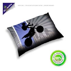 Motocross King Size Pillow Case -