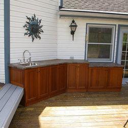 Outdoor Cabinets - Outdoor countertops by Seifert Woodcrafts
