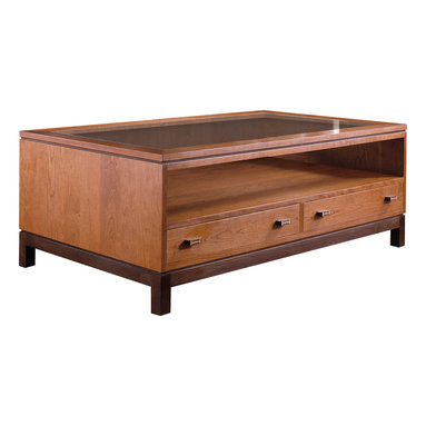 Stickley Storage Cocktail Table 7768 -