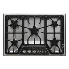 Thermador SGSX305FS 30&quot; Gas Cooktop with 5 Star Burners, 2 ExtraLow Burners, 16,