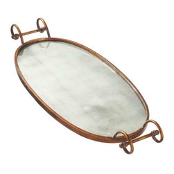 MIDWEST CBK - Mirrored Tray - Mirrored Tray. Shop home furnishings, decor, and accessories from Posh Urban Furnishings. Beautiful, stylish furniture and decor that will brighten your home instantly. Shop modern, traditional, vintage, and world designs.