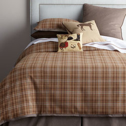 French Laundry Home - French Laundry Home Queen Herringbone Dust Skirt - Plaid shams and duvet covers come in a choice of colors; select color when ordering. European sham and dust skirt are a herringbone pattern. All are made in the USA of imported cotton unless noted otherwise. By French Laundry Home. Dry clean. Plaid sta...