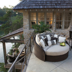 The Sedona Collection by Summer Classics - This is one of our favorite selections! The Sedona day bed by Summer Classics is the perfect place to curly up with a great book on a nice summer day!