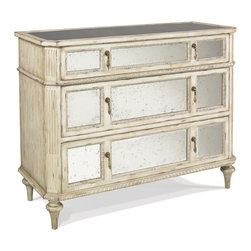 Hickory White - Hickory White Mirrored Chest 893-61 - Hickory White Mirrored Chest 893-61.