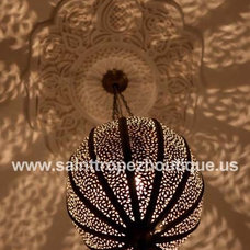 Mediterranean Pendant Lighting by Moorish Architectural Design