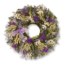 Balsam Hill - Balsam Hill Napa Valley Lavender Wreath - A GORGEOUS DISPLAY OF NATURAL SPLENDOR