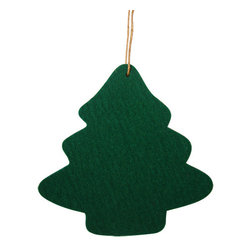 The Felt Store - Felt Christmas Tree Ornament - Kelly Green - The Felt Store's Decorative Tree is the perfect home decoration item for the holiday season. It is made from our high-quality 0.19 inches( 5mm) designer felt and measures 4.5 inches x 4 inches(114.3mm x 101.6mm). The Decorative Tree goes perfectly with our other Home Decor products and will add christmas atmosphere to your home. Several colors are available.