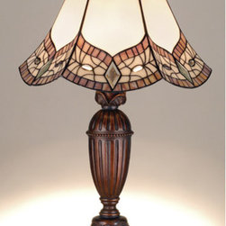 Meyda - 24 Inch Height Mariposa Table Lamps - Color theme: CA, PHS, JP