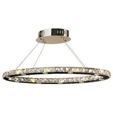 Modern Chandeliers by Worldwide Lighting Corporation