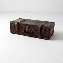 Vintage Leather Luggage - circa 1930s