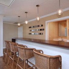 Contemporary Family Room by Megan Williams Interior Design