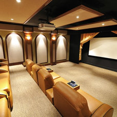 Modern Home Theater by Joseph Anthony