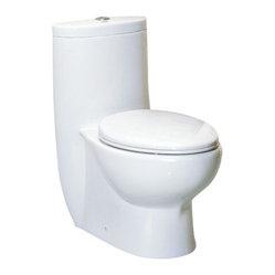 Eago Eago Tb309 One Piece Dual Flush Ultra Low Flush Eco