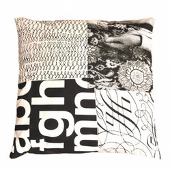 Patch Print Cushion