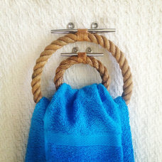 Modern Towel Bars And Hooks by The Landlocked Sailor
