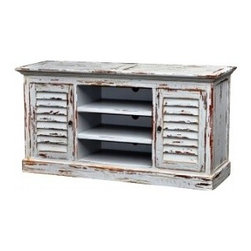 Cottage Shutter TV Stand -