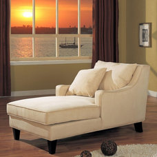 Contemporary  Manchester Chaise Lounge Multicolor - 500029