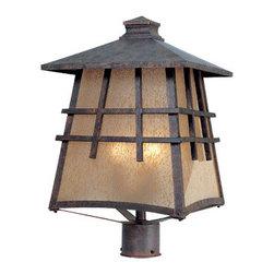 "Designer Fountain - Oak Park 12"" Post Lantern - 12 inches Post Lantern"