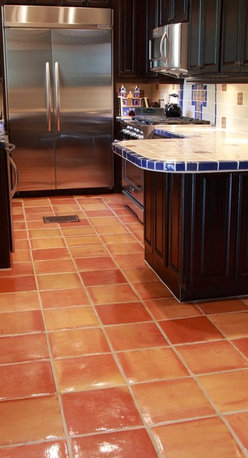 National Company offers Saltillo Regular Square Tile in 12x12 (With Talavera til - Reeso Tiles is a national company and we can ship anywhere in the U.S.