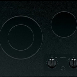 """GE - CleanDesign JP256BMBB 21"""" Smoothtop Electric Cooktop with 2 Ribbon Elements  6""""/ - GE Consumer and Industrial spans the globe as an industry leader in major appliance lighting and integrated industrial equipment systems and services They provide solutions for commercial industrial and residential use in more than 100 countries whic..."""