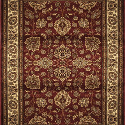 """Home Dynamix - Home Dynamix Rug, Red, 7' 8"""" x10' 2"""" - The Marquis collection from Home Dynamix"""