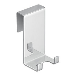 "Gedy - Chromed Stainless Steel Hook (for Shower Cabin and Wiper-Blade S041-13) - Simple square hook for shower cabin and for wiper blade S041-13. Bathroom hook made out of high quality stainless steel and finished in polished chrome. Designed and manufactured in Italy. Part of the Gedy Egadi Collection. Hook for shower cabin and wiper blade S041-13. Bathroom hook made of stainless steel. Finished in polished chrome. Made in Italy. From the Gedy Egadi Collection. Bathroom Hook: Width: 1.6"" height: 3.1"" depth: 1.8""."