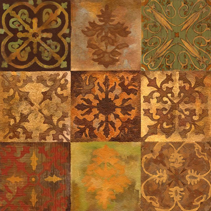 Mediterranean Tile by Connie's Custom Creations
