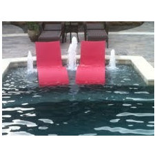 Contemporary Swimming Pools And Spas by Ledge Lounger LLC