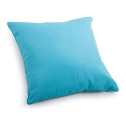 Zuo Modern - Zuo Modern Laguna Large Pillow Sky Blue - Large Pillow Sky Blue belongs to Laguna Collection by Zuo Modern Pillow (1)