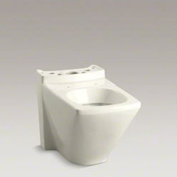 KOHLER Escale(R) dual-flush toilet bowl