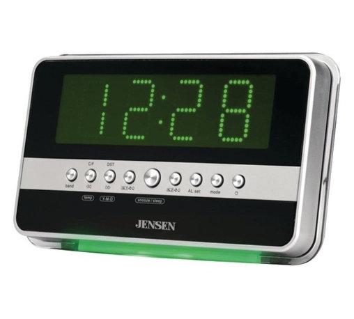 alarm clock radio clocks find traditional and digital. Black Bedroom Furniture Sets. Home Design Ideas