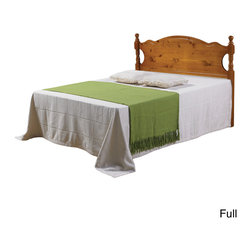 Donco Kids - Panel Poster Honey Headboard - Sometimes a new bed isn't necessary when you are just trying to add a little extra style to a bedroom. This lovely and traditional headboard is made from pine and built with both durability and classic design in mind.