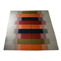 1800GetARug.com - Durie Kilim Area Rug, Hand Woven 10'X15' Flat Weave 100% Wool Rug Sh10524 - Durie Kilim Area Rug, Hand Woven 10'X15' Flat Weave 100% Wool Rug Sh10524