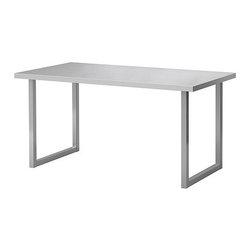 IKEA of Sweden/Johanna Jelinek - VIKA HYTTAN/VIKA MOLIDEN Table - Table, stainless steel, nickel plated