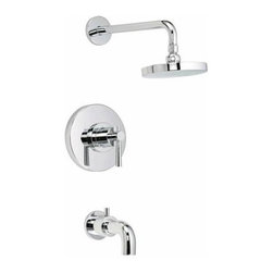 Belle Foret - Belle Foret BFTS600CP One Handle Tub and Shower Faucet in Chrome - Belle Foret BFTS600CP One Handle Tub and Shower Faucet in ChromeThe Belle Foret collection includes a full range of kitchen and bath faucets, copper basins, bathtubs, and bath vanities in timeless finishes to perfectly complement any décor. True to the Country French design, these distinctively elegant faucets and fixtures are graced by the rich patina of time - without the wait or expense.Belle Foret BFTS600CP One Handle Tub and Shower Faucet in Chrome, Features:• Tub and Shower Faucet