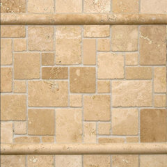 kitchen tile ivory travertine backsplash