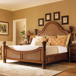 Tommy Bahama by Lexington Home Brands Island Estate Round Hill Bed