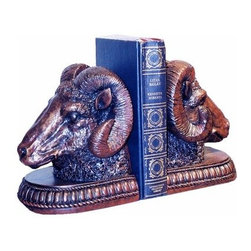 Hickory Manor House Rams Head Bookends - About Hickory Manor HouseFounded in 1984, Hickory Manor House started as a premier frame maker for a variety of markets. Since that time, they have grown into a leading creator of decorative home accessories in a wide variety of styles to suit your every need. With a strong reputation for unique, innovative styles, Hickory Manor House produces original designs that are known worldwide. Their beautiful products have carved a niche for themselves in the home decor market and are sought by name. All Hickory Manor House products are either manufactured in the USA or imported from Europe and other parts of the world.