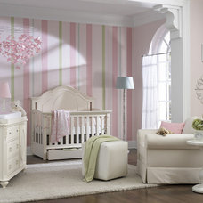 Night time feedings are easier in a cute Nursery!