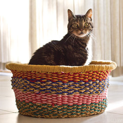 Catnap Basket - Even your fur-kids need a place to nap. Why not treat them to a handmade spot?