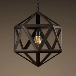 Five-pointed Star Shape Hollow Out Iron Pendant Lighting - Add warmth to your home by hanging this Five-pointed Star Shape Hollow Out Iron Pendant Lighting in your living room,your kitchen bar,your family or your children's bedroom.Once you hang this lamp, you'll start critiquing every other lighting fixture in the house. The light's unique design will change the way you think about illuminating a room.More Table Lamp,Pendant Lighting and Floor Lamp Are waiting for you in www.parrotuncle.com!Welcome to buy now!