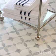 traditional bathroom tile by Sara Baldwin Design