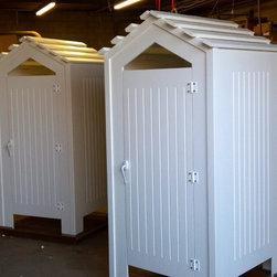 Outdoor Shower Enclosures - Outdoor Shower Enclosure.